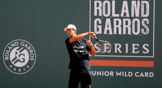 Marcelo Melo no Roland-Garros Junior Wild Card Series em 2019