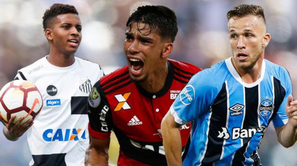 8023baf47b Veja os jovens do Brasil que podem ter chances na próxima Copa