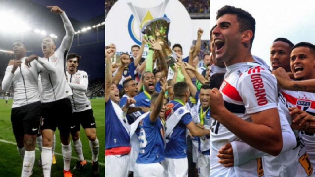 Veja quantas rodadas seu clube passou na liderança do Brasileirão na ... c727c8eea069d