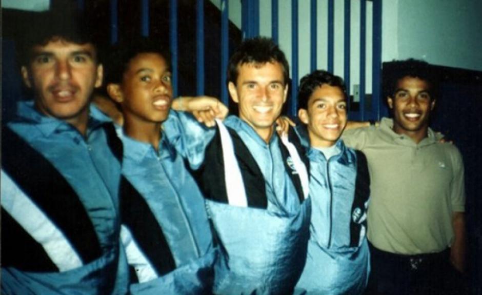Ronaldinho nos tempos de Grêmio (Crédito: Renato Schmitt/site RSfuteboltotal)
