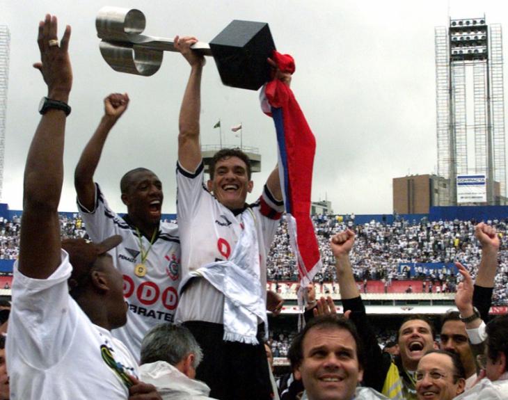 Corinthians - Campeão Brasileiro 1998 (Foto: Nelson Almeida)