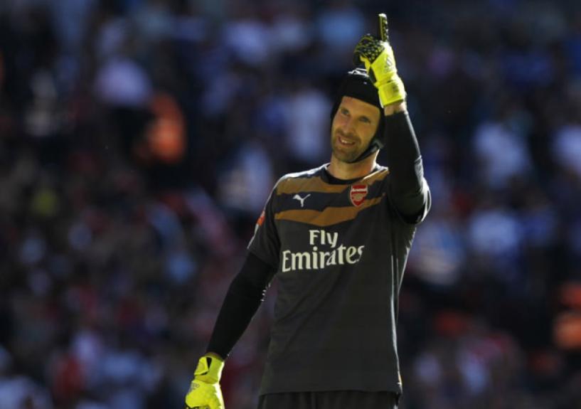 Petr Cech - Arsenal x Chelsea - Supercopa da Inglaterra (Foto  Ian Kington   7fdb8b66c9a98