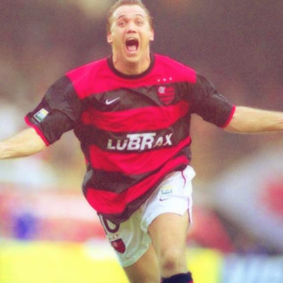 Mariusz Piekarski atuando pelo Flamengo (entre 1997 e 1998)