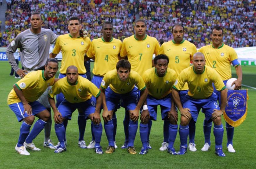Adriano foi titular da Seleção Brasileira que disputou a Copa do mundo de  2006 4f2dec33702be