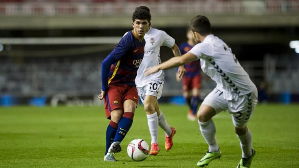 Carles Aleña joga no Barcelona