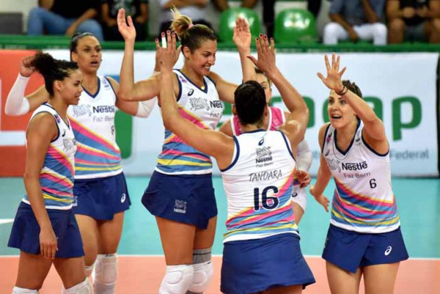 Superliga Feminina - equipe de Osasco soma 12 pontos e está na quarta posição