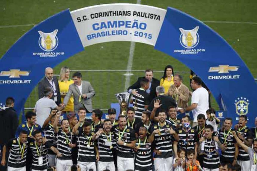 Campeão Brasileiro - Corinthians 2015