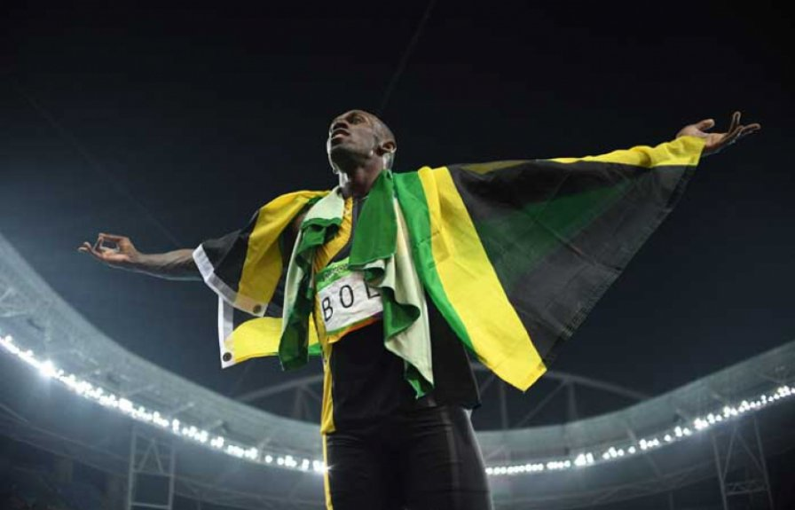 Foto do ano - Usain Bolt