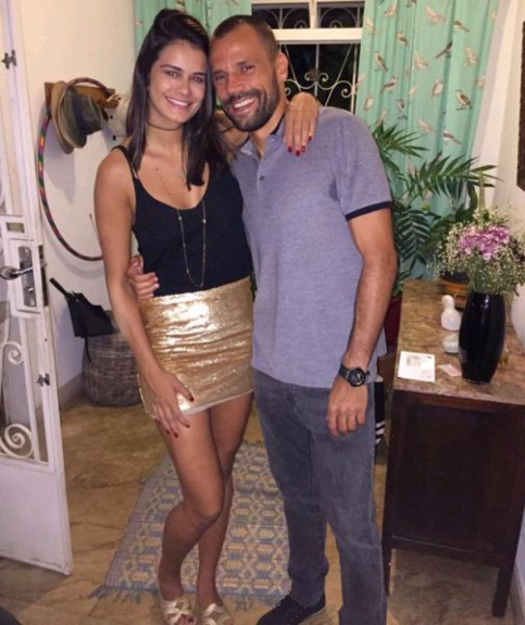 Lara Nobre e Diego Cavalieri