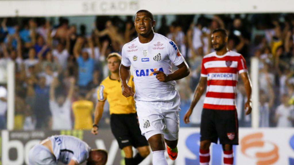 Gol do Rodrigão - Santos x Linense