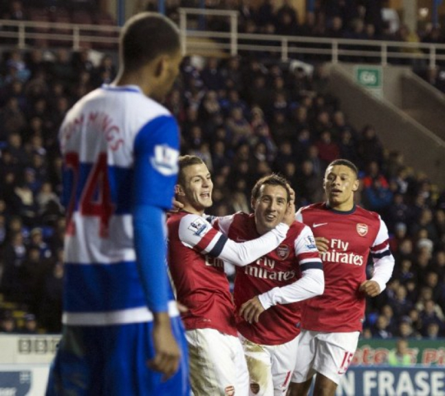 Arsenal x Reading - 2012
