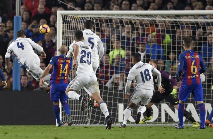 Sergio Ramos - Barcelona x Real Madrid 2016