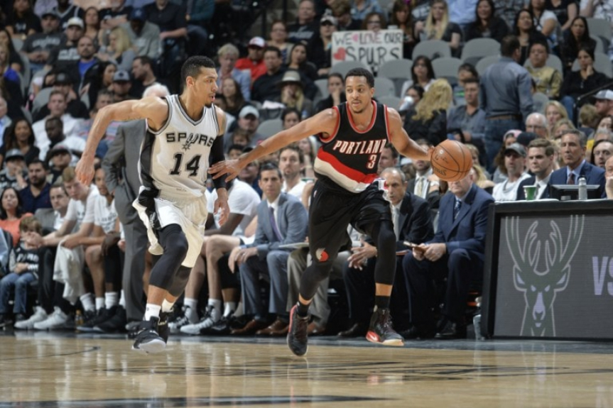 Portland Trail Blazers x San Antonio Spurs