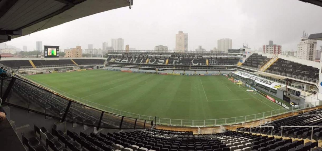 Vila Belmiro - Santos x Palmeiras