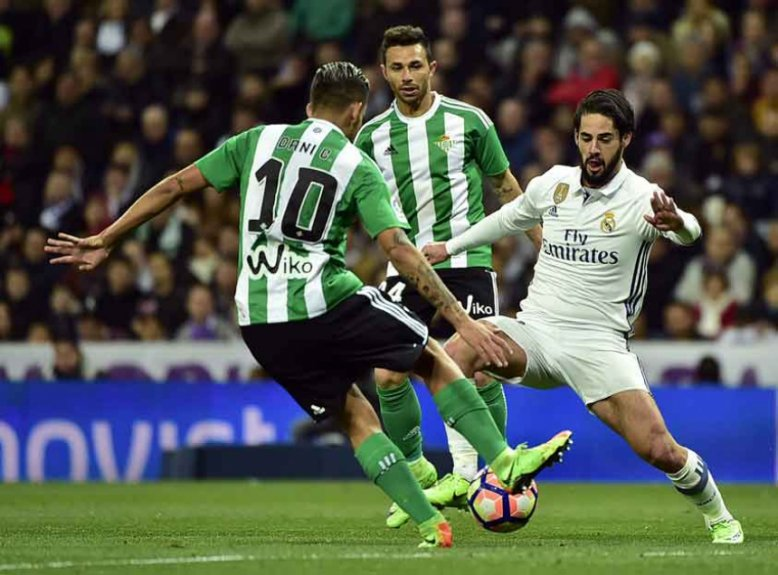 Isco - Real Madrid x Betis