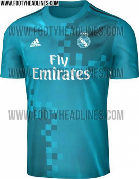Camisa 3 do Real Madrid
