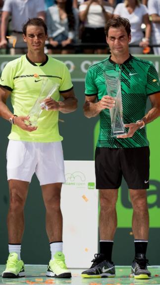 No fim de semana Federer bateu Nadal e conquistou o Master Series de Miami