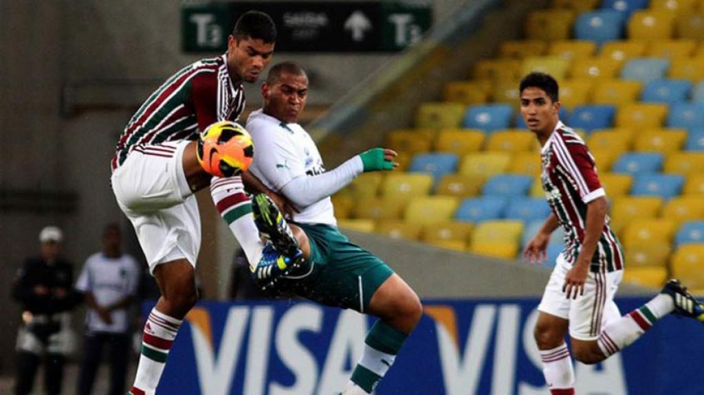 Jogo Fluminense 1 a 0 Goiás - Copa do Brasil 2013