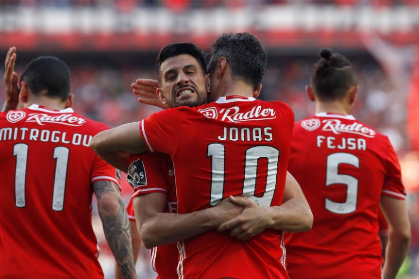 Jonas - Benfica x Marítimo