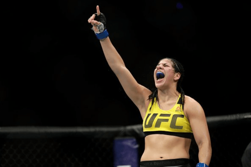 Ketlen Vieira venceu Ashlee Evans-Smith no UFC Fight Night Kansas City