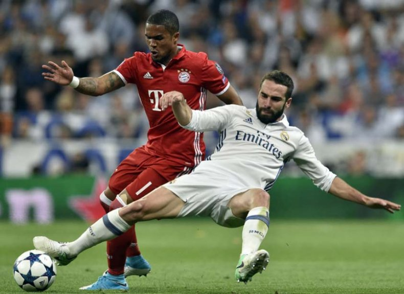 Douglas Costa e Carvajal - Real Madrid x Bayern de Munique