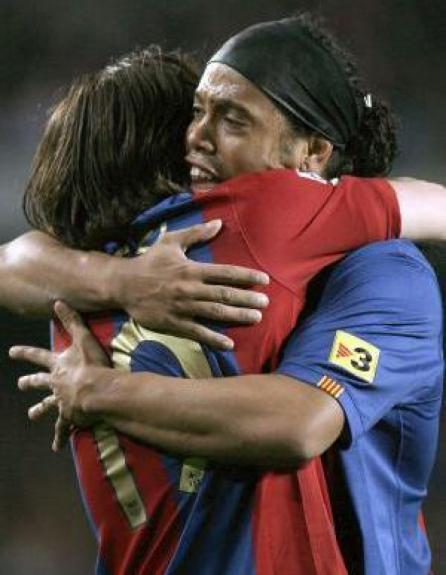 Ronaldinho Gaúcho e Messi
