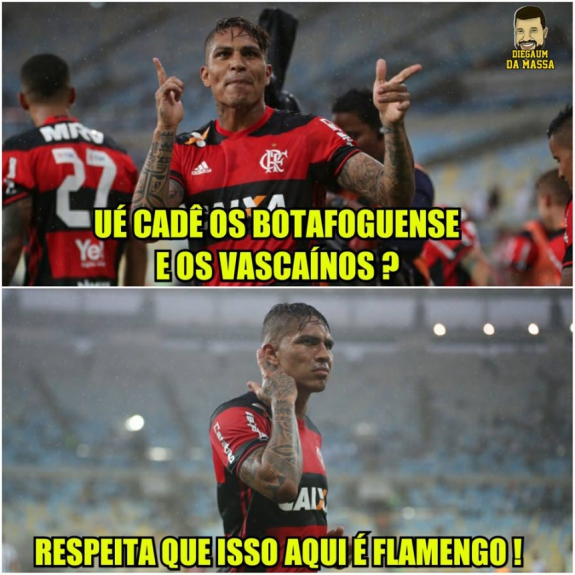 cb51a75255 Santo Guerrero! Os memes da vitória do Flamengo sobre o Botafogo ...