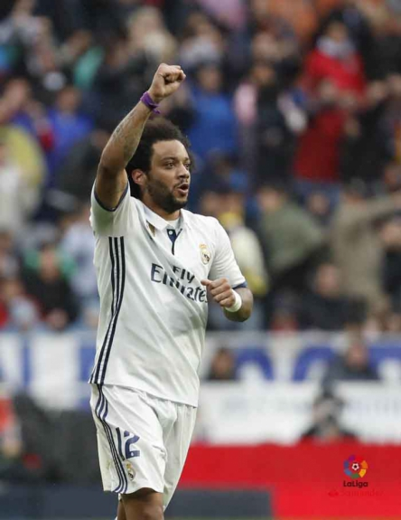 Real Madrid x Valencia - Marcelo