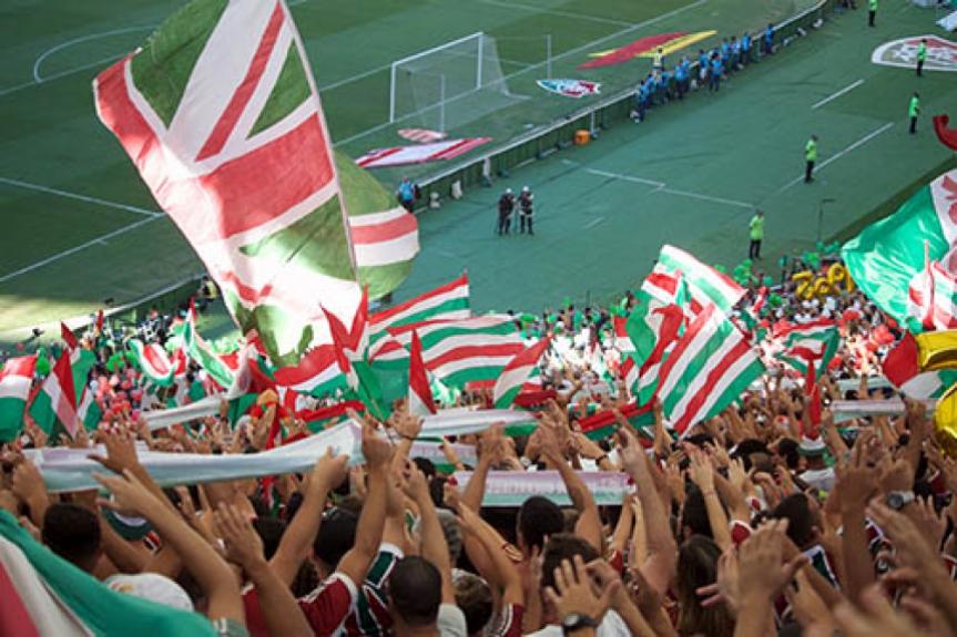 Torcida Fluminense Maracanã
