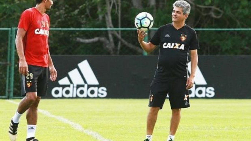 Ney Franco altera local de treino do Sport antes do confronto contra o Danúbio (URU)