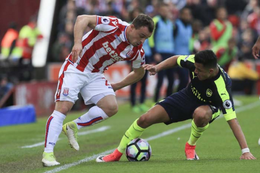 Stoke City x Arsenal