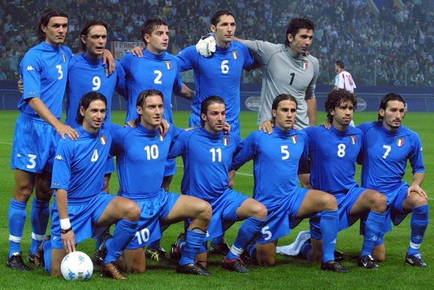 84e55058f3 Por que chamam a seleção da Italia de AZZURRA   - Gloove