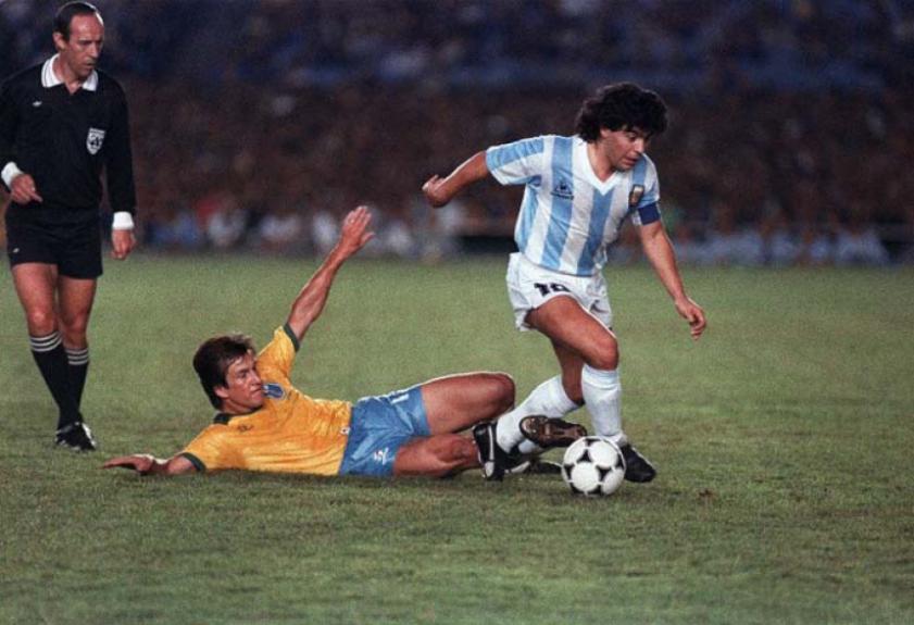 Resultado de imagem para brasil x argentina copa america 1989