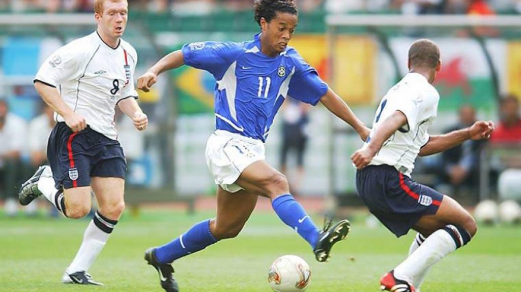 Brasil 2x1 Inglaterra - 21/6/2002