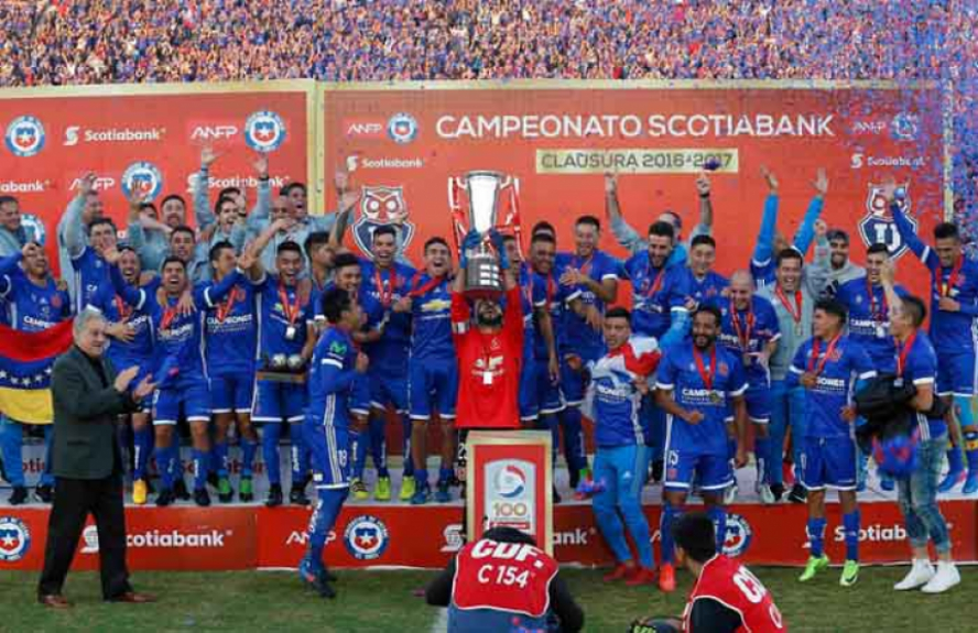 Universidad de Chile - Campeão do Torneo Clausura 2017