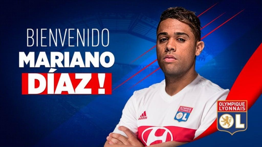 Mariano Díaz - Lyon