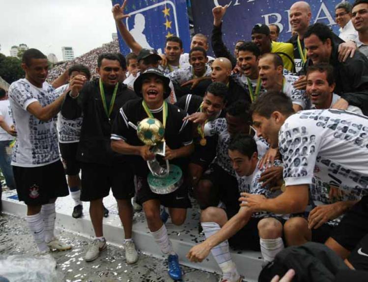 Corinthians - Ano (2008) - Colocação: 1ª - Aproveitamento: 74,5%