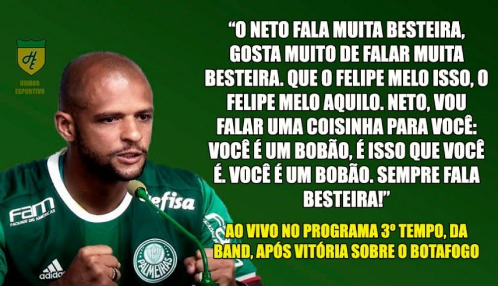 As Frases Mais Impactantes De Felipe Melo Em Sua Passagem