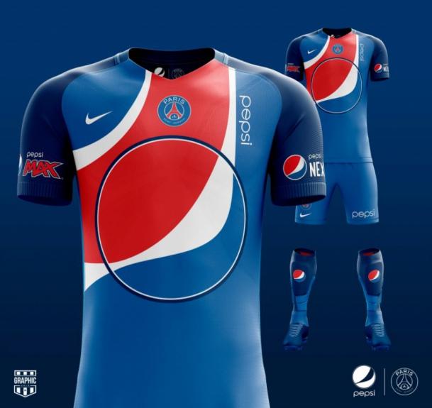 E se os uniformes dos clubes fossem personalizados com