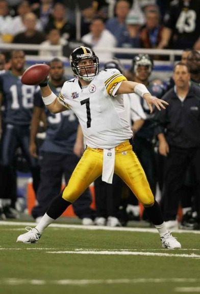 O Pittsburgh Steelers ergueu a taça em 2006, superando o Seattle Seahawks