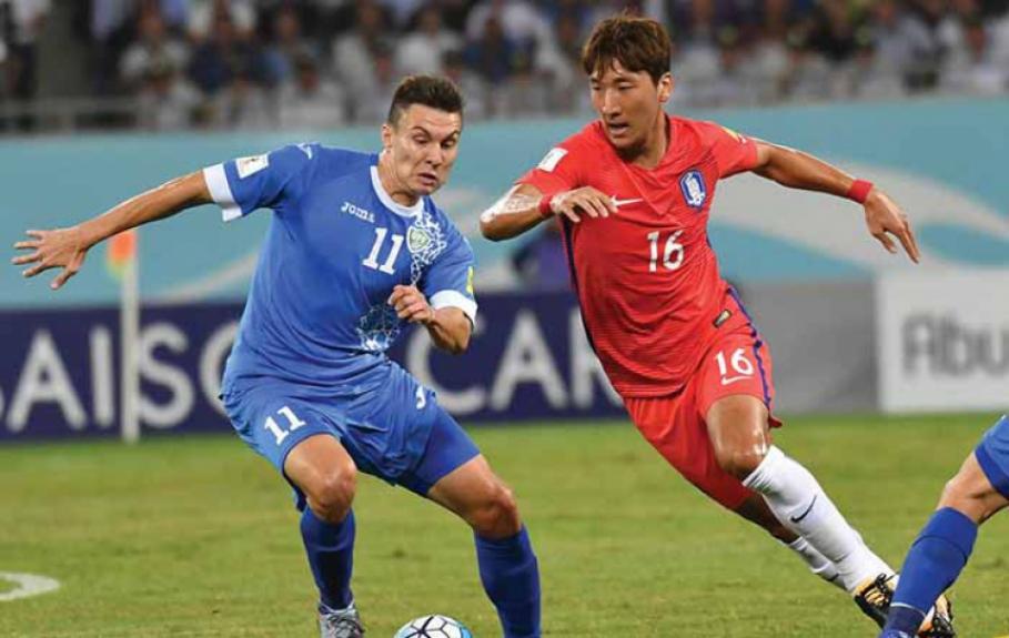 Uzbequistão x Coreia do Sul