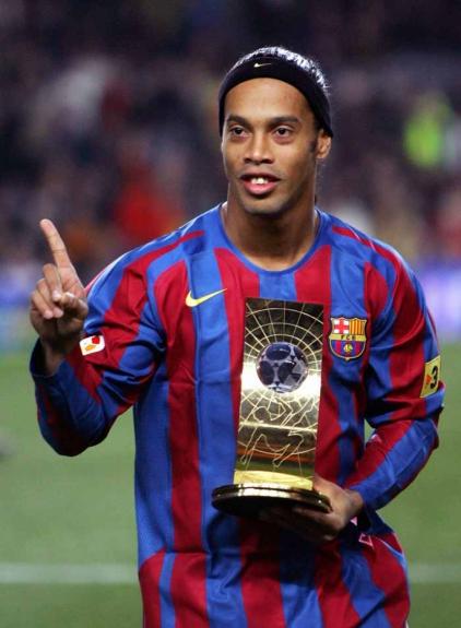 2005 - Ronaldinho Gaúcho (Barcelona/Brasil)