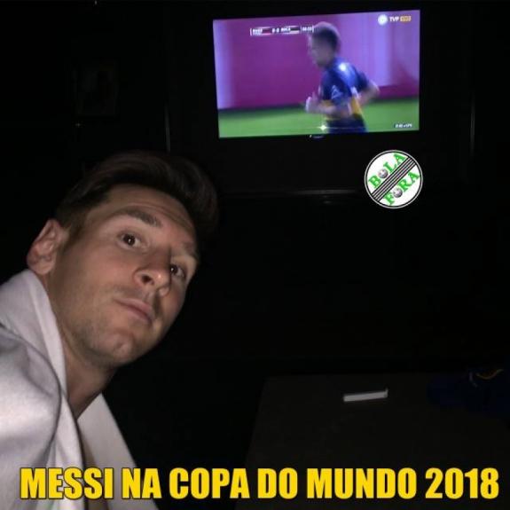 Desespero Da Argentina Vira Piada Entre Os Brasileiros Lance