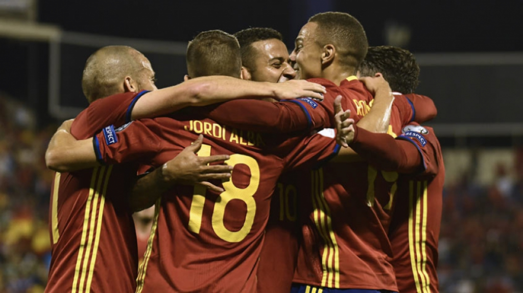 Espanha x Albânia