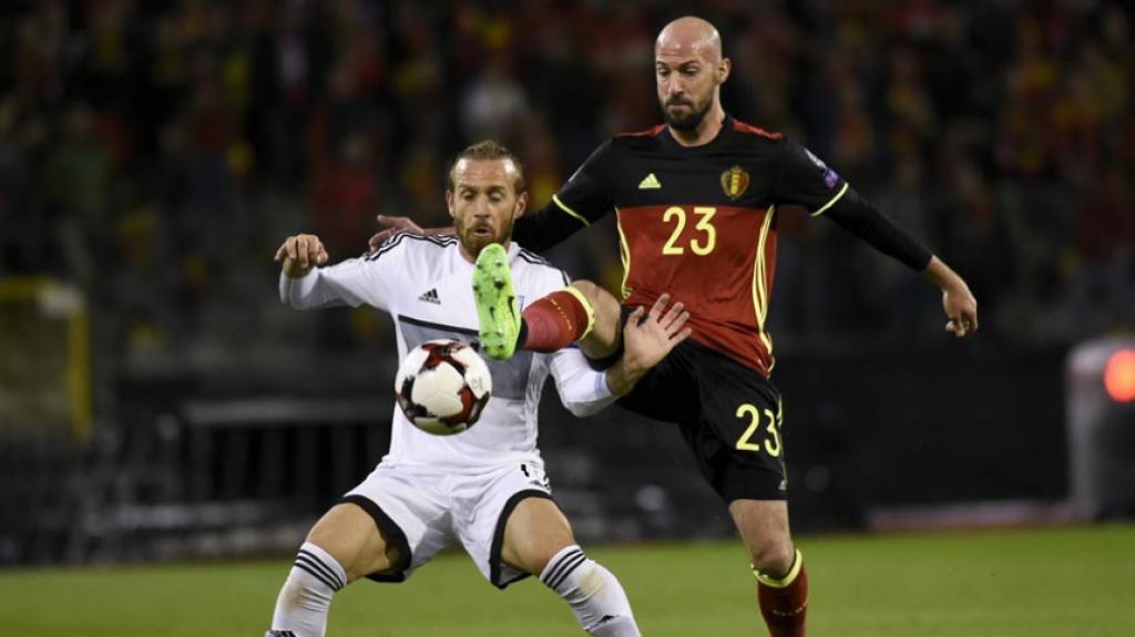 Bélgica x Chipre