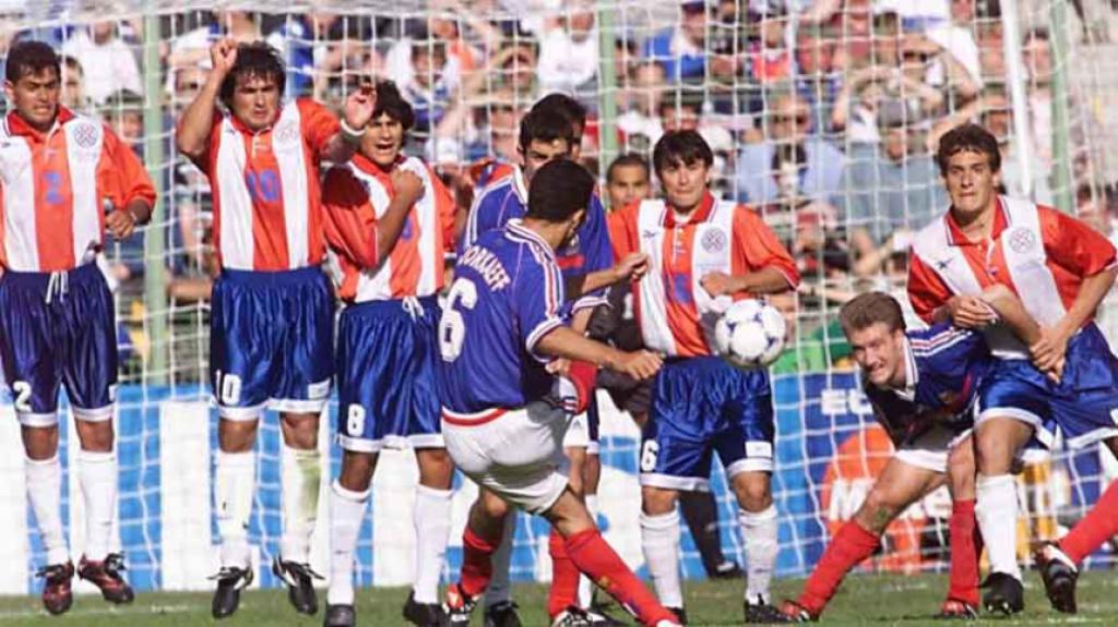 França x Paraguai 98