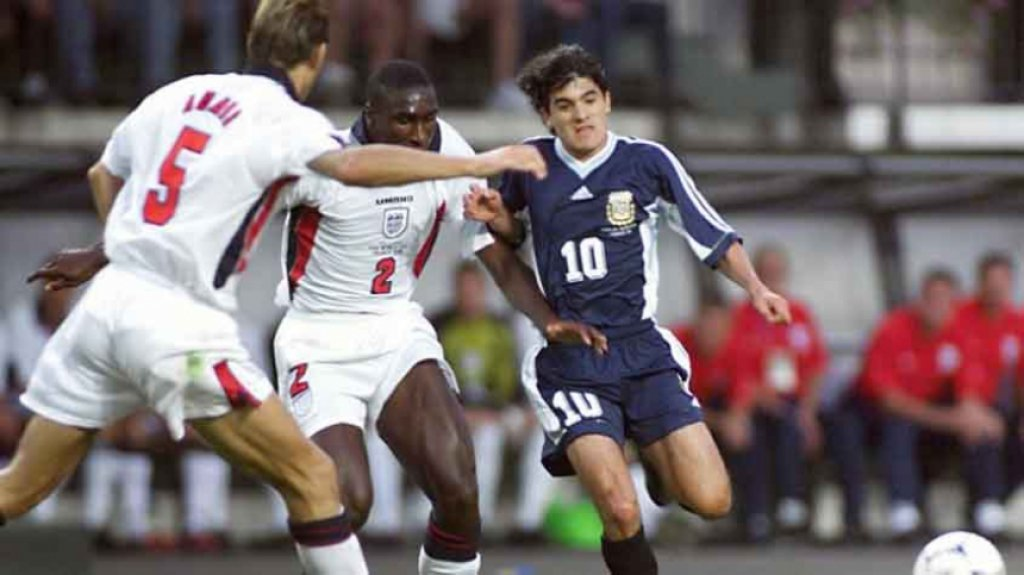 Argentina x Inglaterra 98