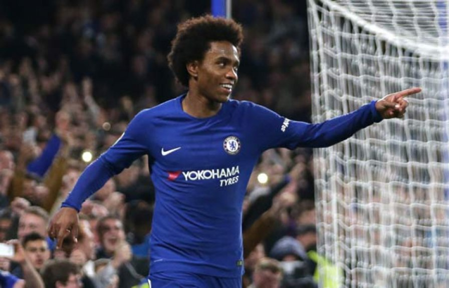 Willian - Chelsea x Everton