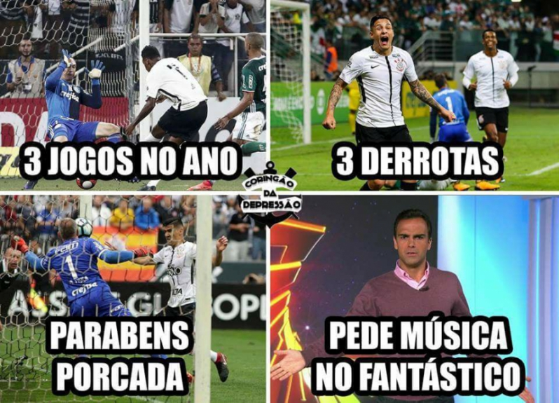 Os melhores memes da vitória do Corinthians diante do Palmeiras d637e4c339bed