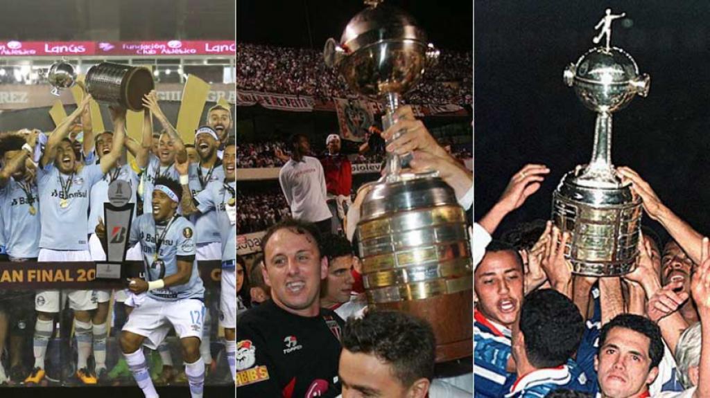 3cf91aa74f Quantas vitórias tem seu time na Copa Libertadores  Veja ranking ...